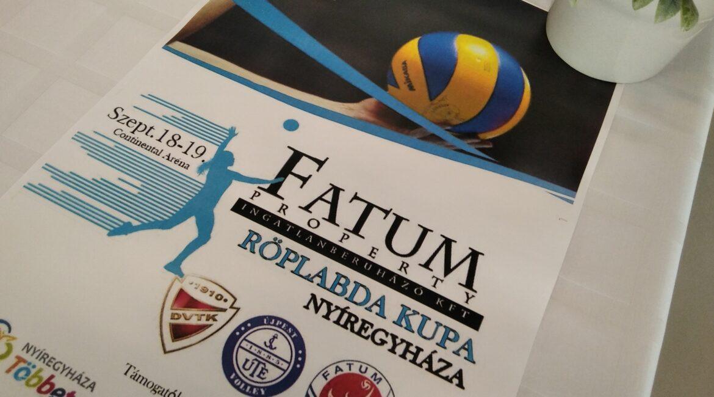 Fatum Property Kupa - Sajtótájékoztató 1