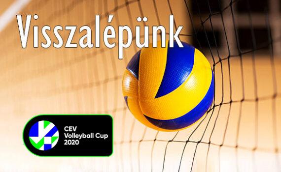 CEV Kupa - Visszalépünk 6