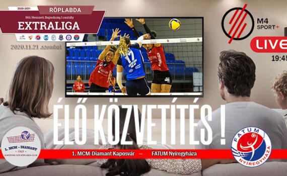 Tévés meccs a Kaposvár ellen 9